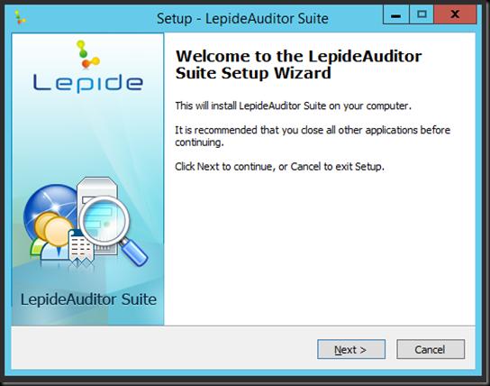 LepideAuditor_Installation_01